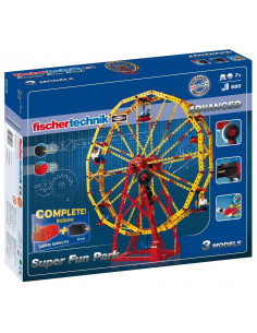 Set Constructie Fischertechnik Advanced Super Fun Park 3 Modele