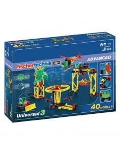 Set Constructie Fischertechnik Advanced Universal 3 40 Modele