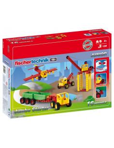 Set Constructie Fischertechnik Junior Jumbo Starter 16 Modele