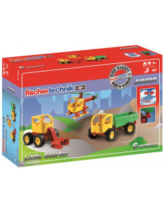 Set Constructie Fischertechnik Junior Little Starter 6 Modele