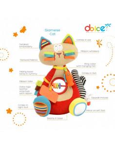 Pisica siameza, jucarie interactiva cu activități, Dolce