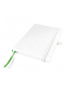 Caiet de birou LEITZ Complete, A5, dictando, alb
