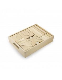 Set blocuri arhitecturalede construit, natur - 48 buc, Viga