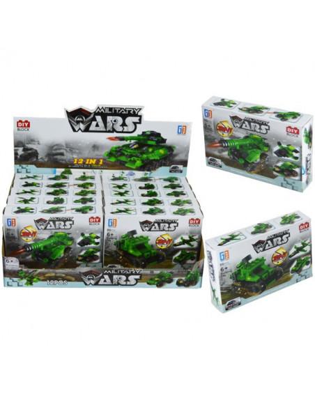 Cuburi Constructii Armata, 12 cutii