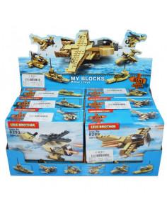 Cuburi Constructii Armata, 6 cutii