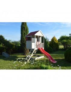 Casuta de gradina Summer Adventure House cu platforma cu loc