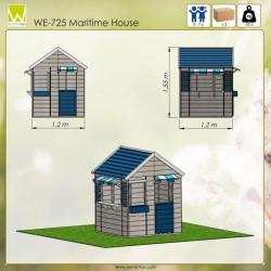 Casuta de gradina Maritime House (M17), Wendi Toys