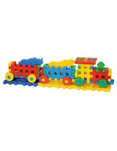 Cuburi Constructii, Locomotiva