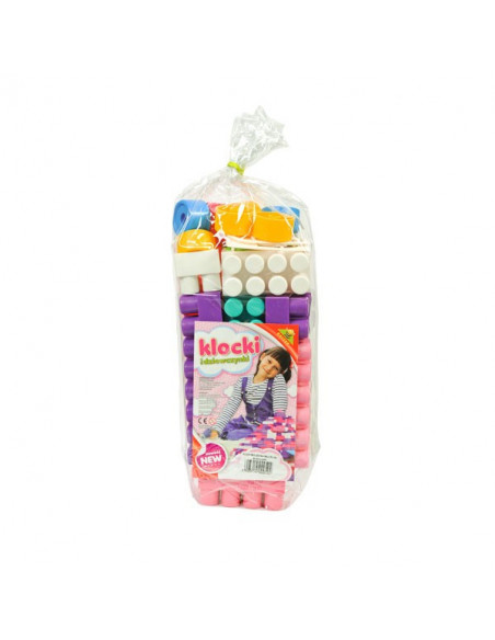 Cuburi Constructii Maxi Pentru Fetite, 30 Piese
