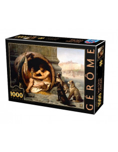 Diogenes Of Sinope, Puzzle D-Toys Jean Leon Gerome, 1000 Piese