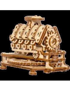 Motor V8 puzzle 3D mecanic