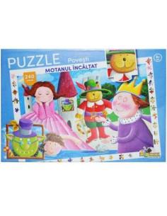 Puzzle Noriel, Colectia povesti - Motanul incaltat, 240 piese
