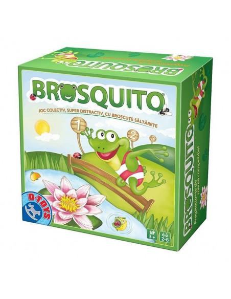 Brosquito Joc De Societate D -Toys Cu Broscute Saltarete