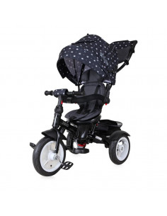 Tricicleta NEO AIR Wheels, Black Crown