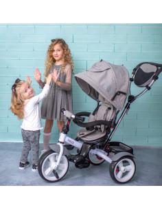 Tricicleta NEO EVA Wheels, Grey