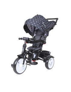 Tricicleta NEO EVA Wheels, Black Crown
