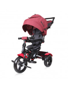 Tricicleta NEO EVA Wheels, Red & Black Luxe