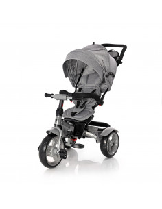 Tricicleta NEO EVA Wheels, Grey Luxe