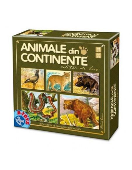 Animale Din Continente Editia De Lux, Joc D-Toys