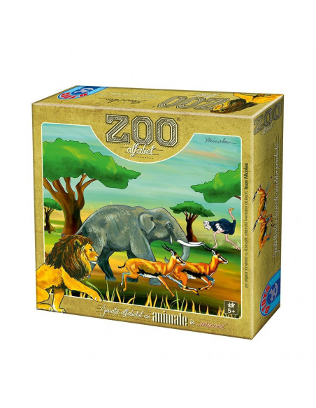 Zoo Alfabet, Joc Romanesc D-Toys