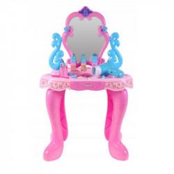 Masuta de infrumusetare MalPlay Beauty cu oglinda rotativa