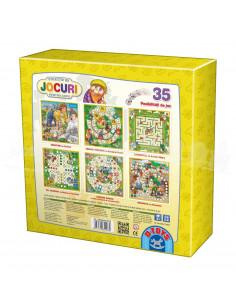 Colectie De Jocuri, 35 Posibilitati De Joc, Basme, D-Toys