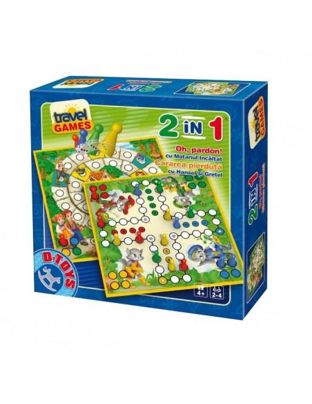Joc 2 In 1 - Joc Oh, Pardon Si Joc Cararea Pierduta D-Toys