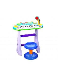 Instrument Muzical Pianina electronica MalPlay cu scaun si