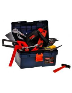 Set de unelte pentru copii MalPlay in cutie cu 32 de piese