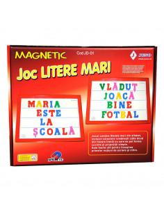 Litere Magnetice Mari, 60 Piese, Joc Juno