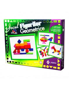 Jocul Figurilor Geometrice - Joc Juno Magnetic