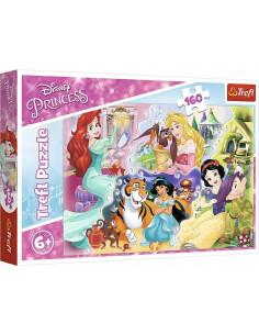 Puzzle Trefl Disney Princess, Printesele si prietenii lor 160
