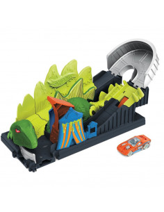 Pista de masini Hot Wheels by Mattel Toxic Dino coaster attack