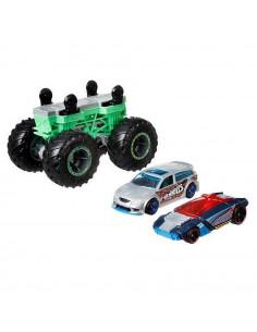 Set Hot Wheels by Mattel Monster Trucks Monster Maker GWW15