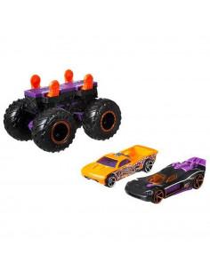 Set Hot Wheels by Mattel Monster Trucks Monster Maker GWW16