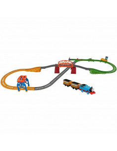 Set Fisher Price by Mattel Thomas and Friends 3 in 1 cu sina
