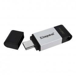 MEMORIE USB Type-C KINGSTON 32 GB, cu capac, carcasa metalic