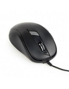 MOUSE GEMBIRD, notebook, PC, cu fir, optic, USB, 1600 dpi, 6/1
