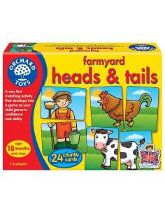 Joc Educativ Asociere Prietenii De La Ferma Farmyard Heads &