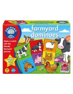 Joc Educativ Domino Ferma Farmyard Dominoes