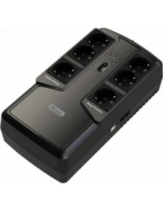 UPS MUSTEK Offline (fara AVR), 800VA/ 400W, 6 x socket Schuko