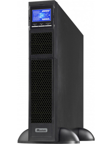 UPS MUSTEK Online cu Sinusoida Pura, rack, 1000VA/ 1000W, AVR