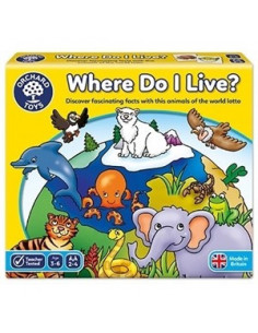 Joc Educativ Loto Habitate Where Do I Live