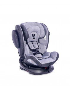 Scaun auto AVIATOR SPS Isofix, Black & Light Grey