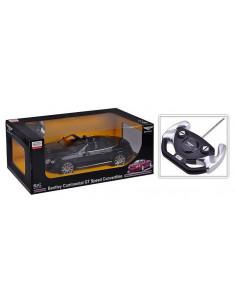 Masina Cu Telecomanda Bentley Continetal Gt Negru Cu Scara 1 La
