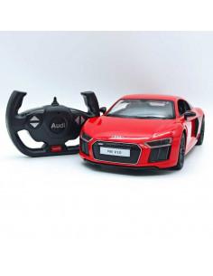 Masina Cu Telecomanda Audi R8 Rosu Cu Scara 1 La 14