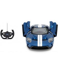 Masina Cu Telecomanda Ford Gt Albastru Cu Scara 1 La 14