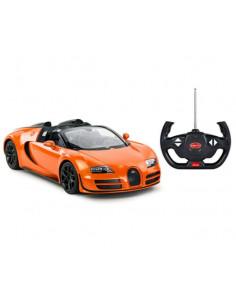 Masina Cu Telecomanda Bugatti Grand Sport Vitesse Portocaliu Cu