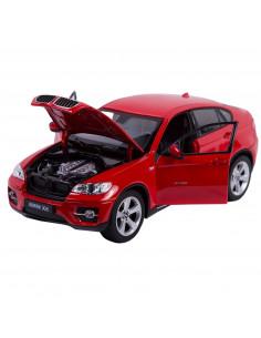 Masinuta Metalica Bmw X6 Rosu Scara 1 La 24