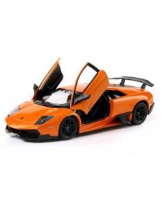Masinuta Metalica Lamborghini Murcielago Lp670-4 Portocaliu